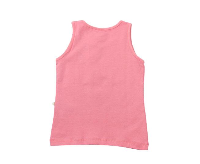 "Camiseta Regata ""Believe in Yourself"" Rosa Brandili"