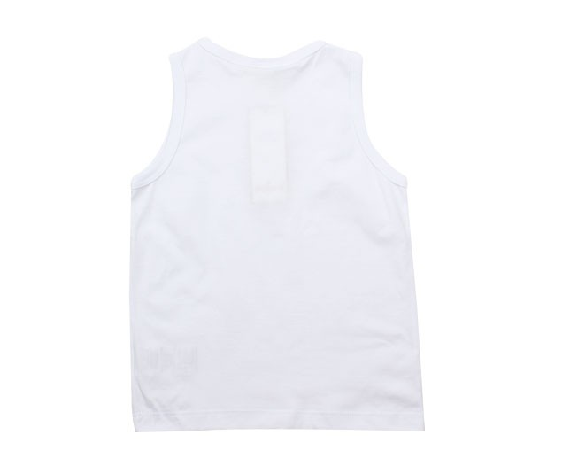 Camiseta Regata Branca Básica Milon