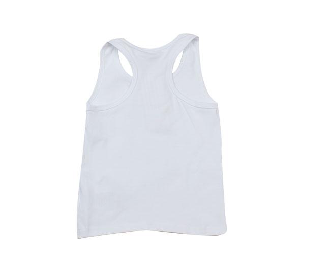 Camiseta Regata Branca Milon