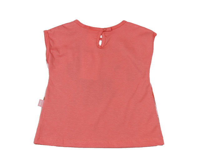 Camiseta Regata de Cachorrinho Fashion + Botão Pulla Bulla