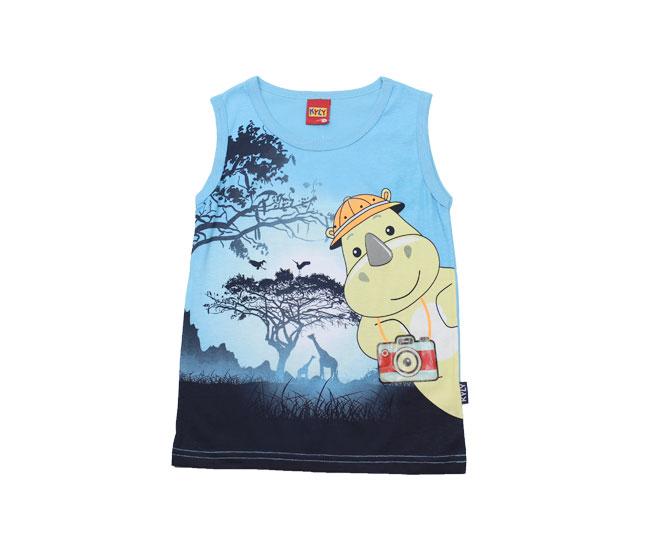 Camiseta Regata de Rinoceronte Fotografo  Kyly