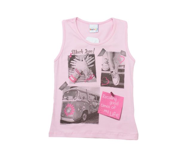 Camiseta Feminina regata Love Kaiani