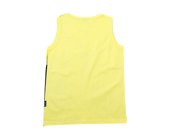 cda8515fa8 Camiseta Regata Masculina Amarela Moto Kyly - Criança e Bebê ...