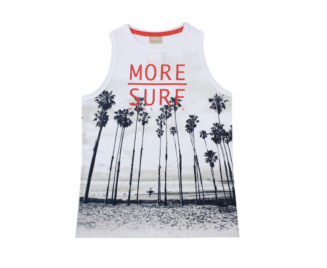 Camiseta Masculina Regata More Surf  Milon