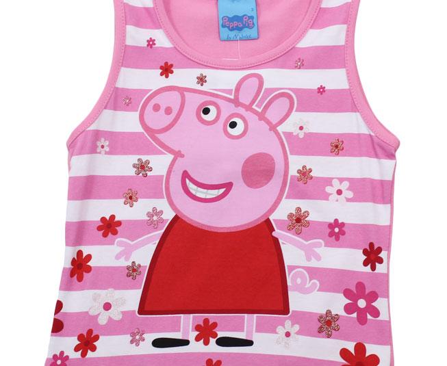 Camiseta Regata Peppa Pig Listrada