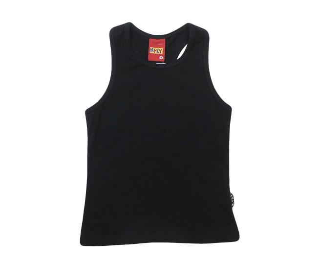 Camiseta Regata Preta Kyly