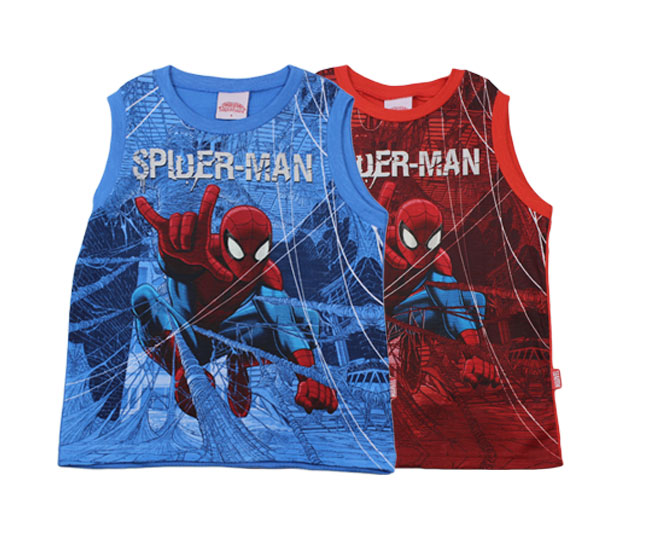 Camiseta Regata Spider-Man Marvel Brandili