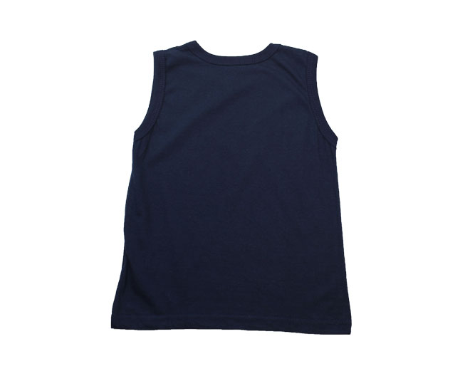 Camiseta Regata Azul Marinho Boca Grande