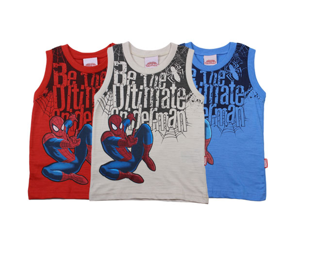 Camiseta Regata Ultimate Spider-Man Marvel Brandili