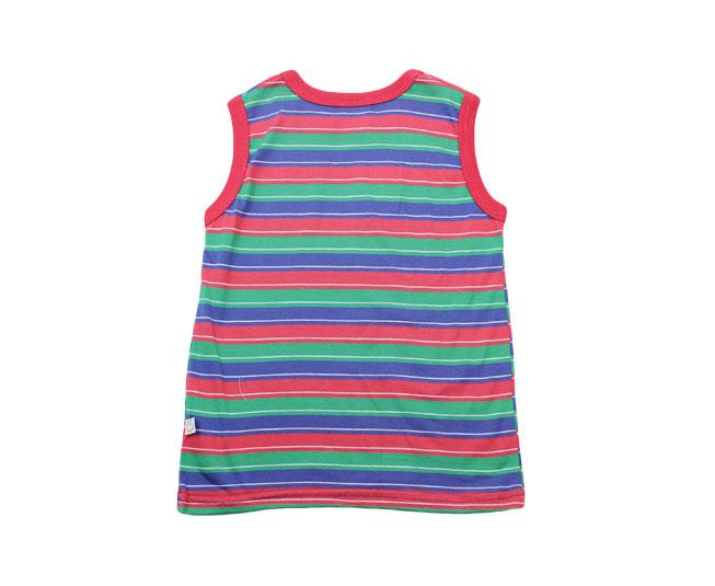 Camiseta Regata Verde/Vermelho/Azul Boca Grande