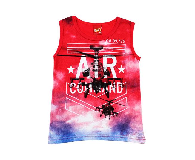 7ad088768 ... Camiseta Regata Vermelha Air Comand Kyly - Criança e Bebê ...