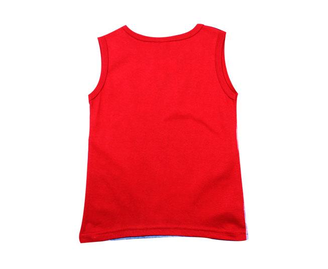 4251651f38300 Camiseta Regata Vermelha Air Comand Kyly - Criança e Bebê ...