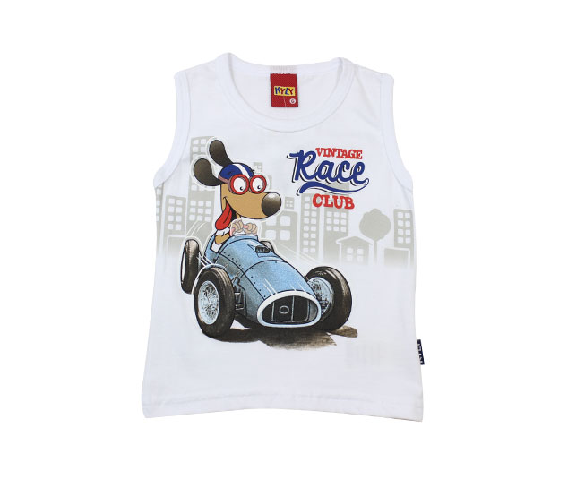 Camiseta Regata Vintage Race Kyly