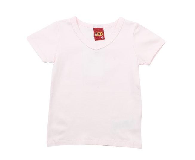 Camiseta Rosa Claro Kyly