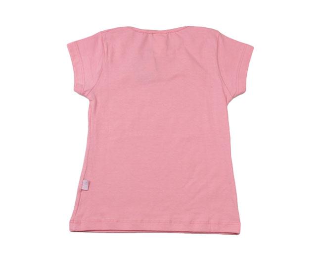 Camiseta Rosa com Lacinho Pulla Bulla
