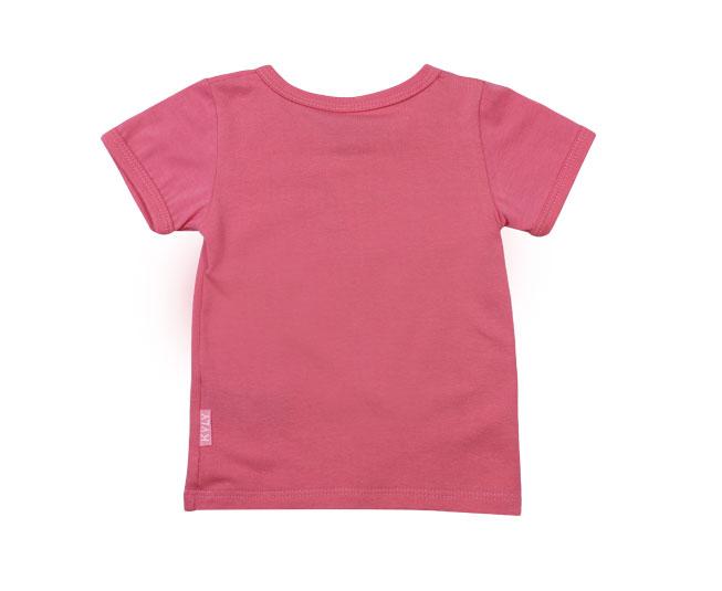 Camiseta Feminina Rosa Kyly
