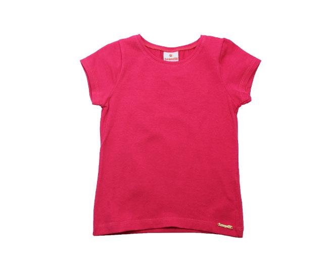 Camiseta Rosa Lisa Brandili