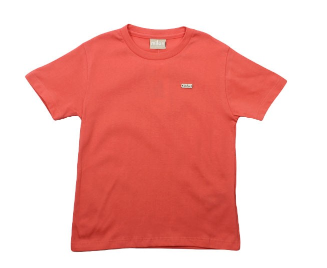 Camiseta Rosa Salmão Milon