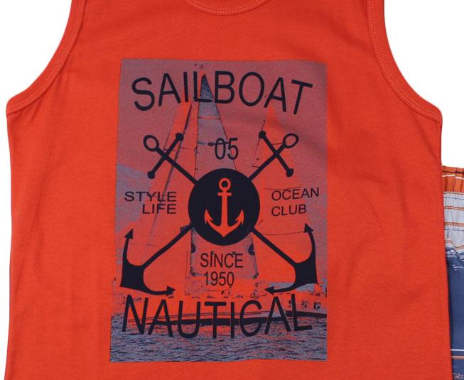 """Conjunto Masculino """"Sail Boat"""" Pulla Bulla"""