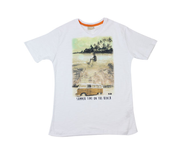 Camiseta  Summer Time On The Beach Milon