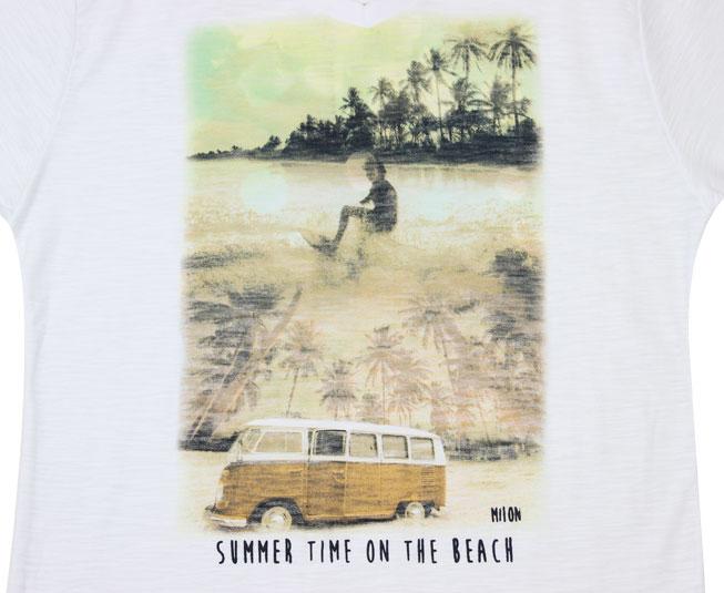 Camiseta  Summer Time On The Beach Milon