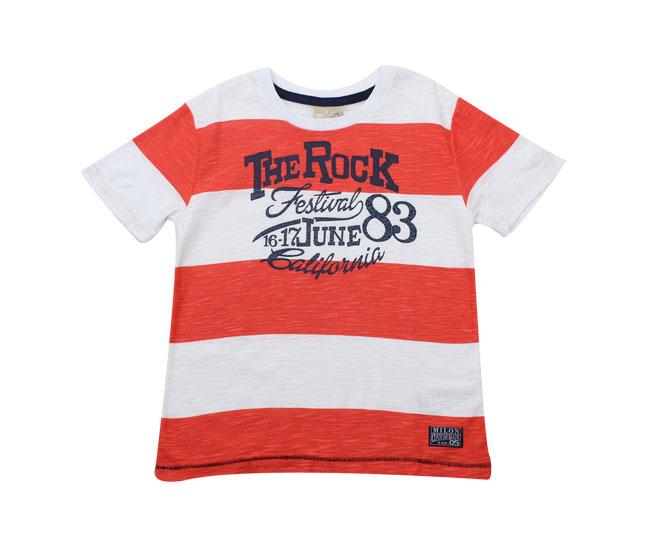 "Camiseta ""The Rock"" Listrada Milon"