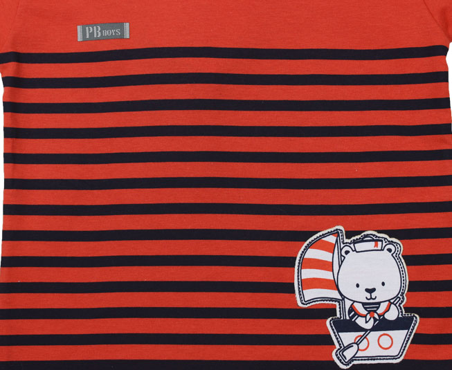 Camiseta Ursinho Marinheiro Pulla Bulla