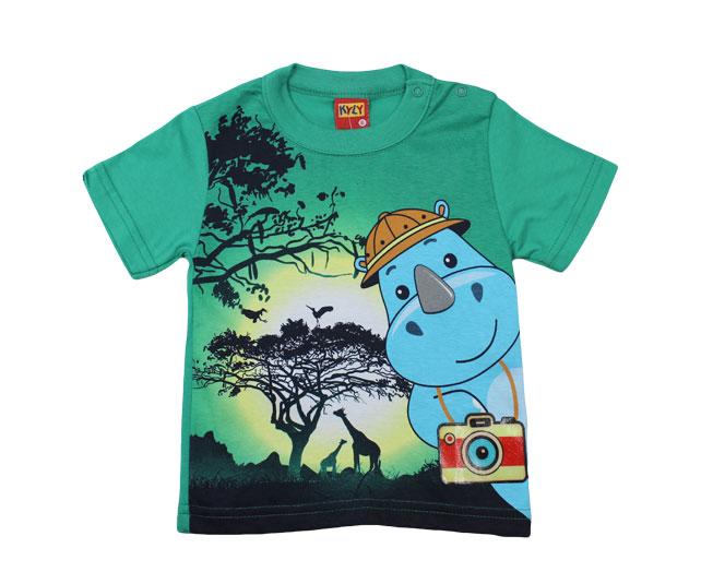 Camiseta Verde Rinoceronte Kyly