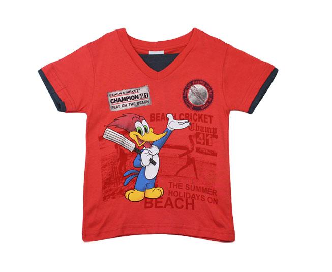 Camiseta Vermelha Pica-Pau Brandili