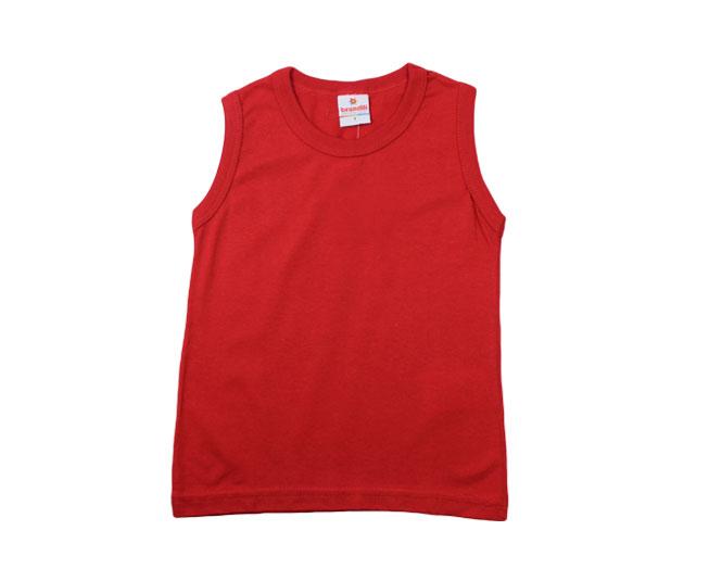 Camiseta Vermelha Regata Brandili
