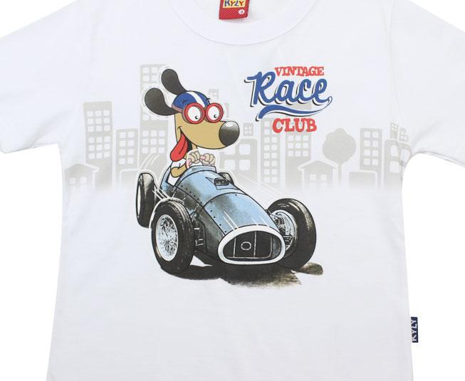 "Camiseta ""Vintage Race Club"" Kyly"