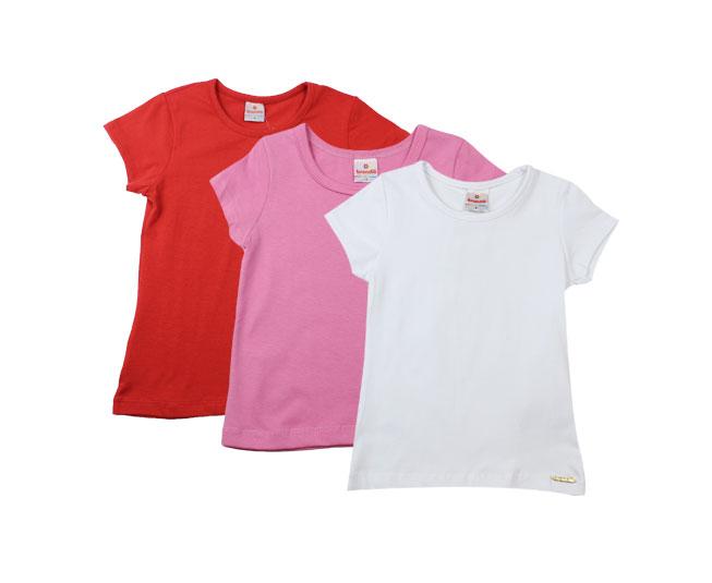 Camisetas Femininas Diversas Cores Brandilli