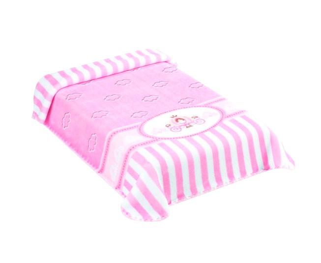 Cobertor Colibri Exclusive  Carruagem Rosa