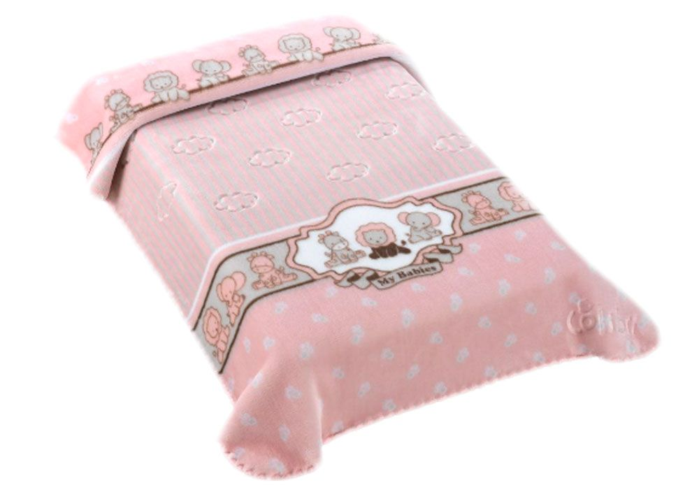 Cobertor Colibri Exclusive Rosa My Babies