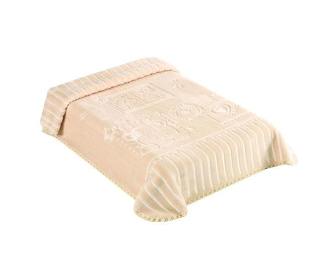 Cobertor Colibri Exclusive Urso Mensageiro Bege
