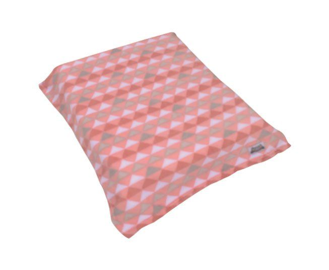 Cobertor Colibri Fofura Triangulo Rosa