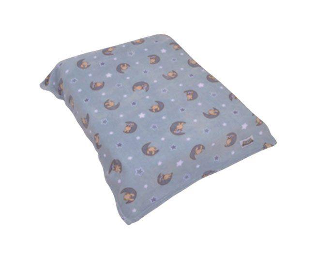 Cobertor Colibri Fofura Ursinho Azul