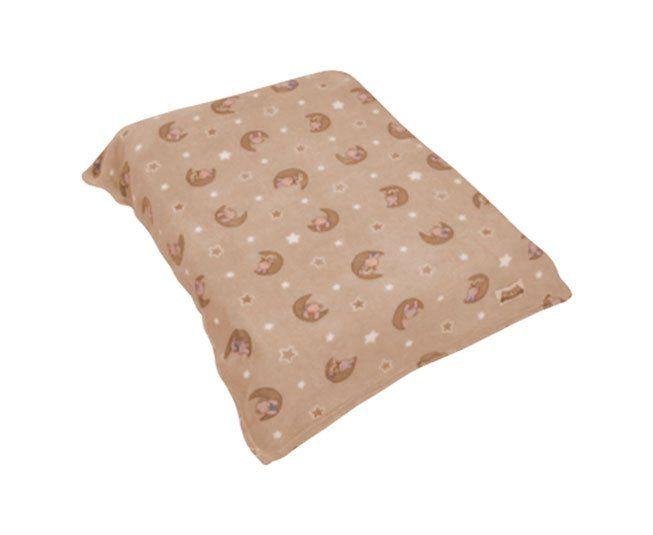 Cobertor Colibri Fofura Ursinho Bege