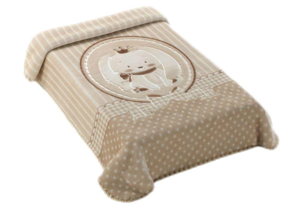 Cobertor Colibri Premium Bege Coelho