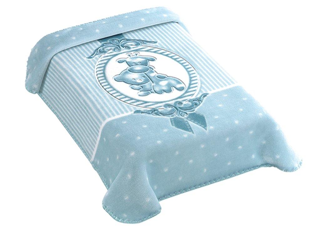 Cobertor Colibri Premium Camafeu Azul