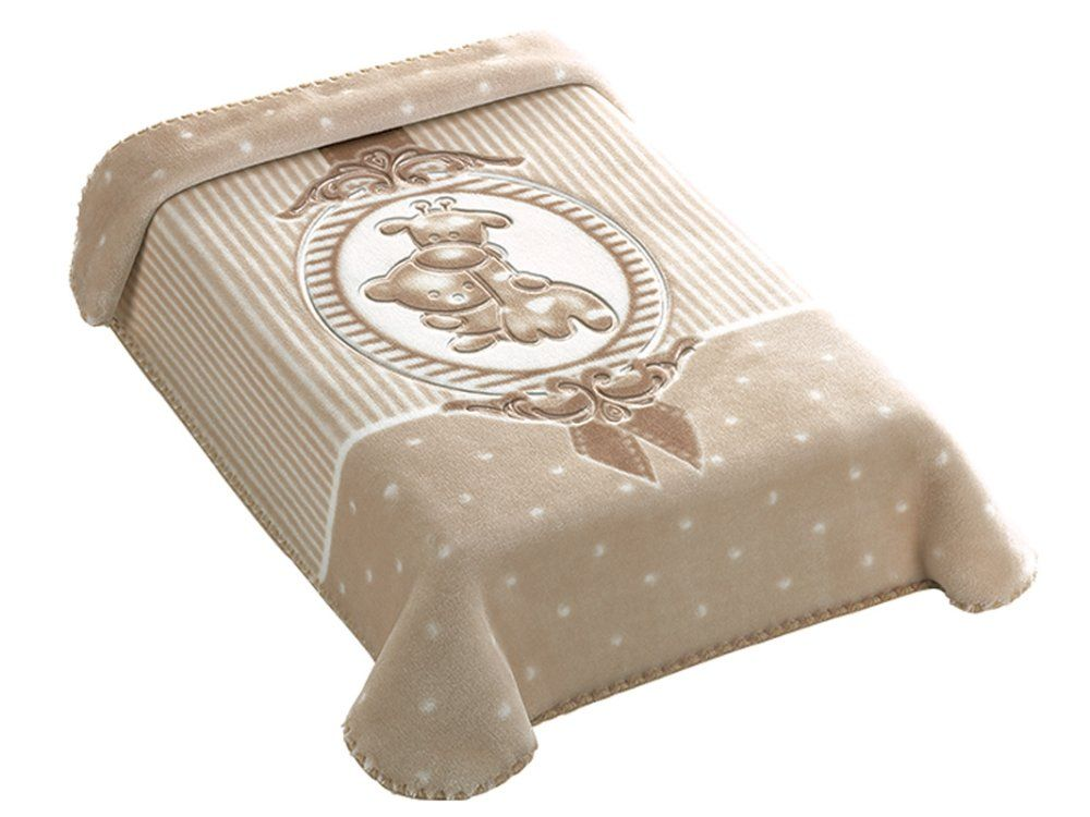 Cobertor Colibri Premium Camafeu Bege