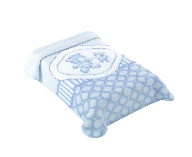 Cobertor Colibri Premium  Classic Azul
