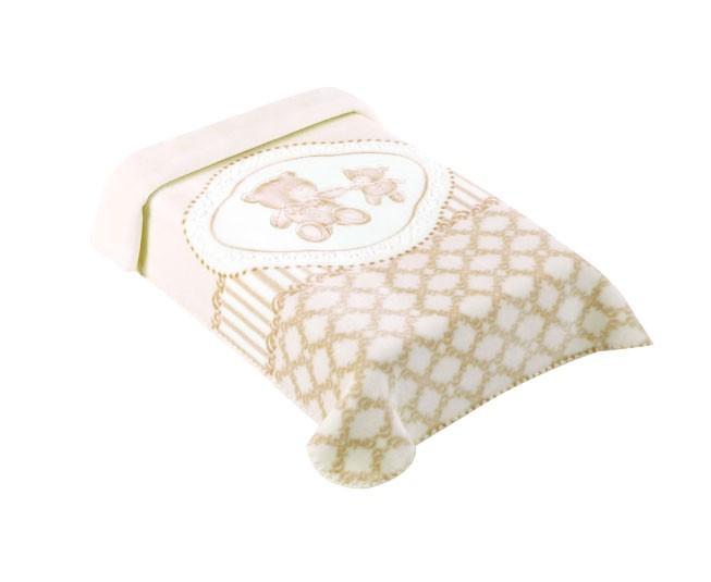 Cobertor Colibri Premium  Classic Bege