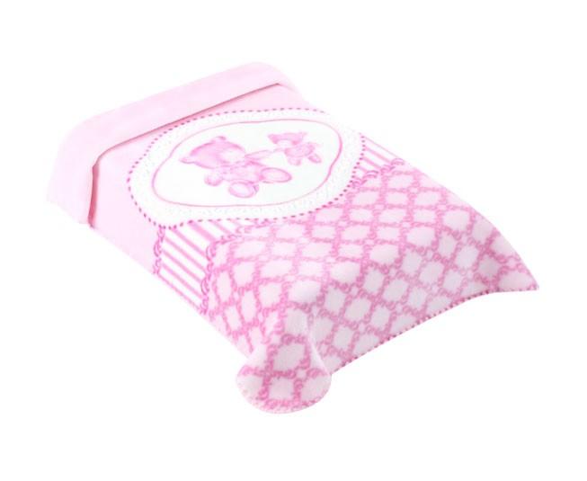 Cobertor Colibri Premium Classic Rosa