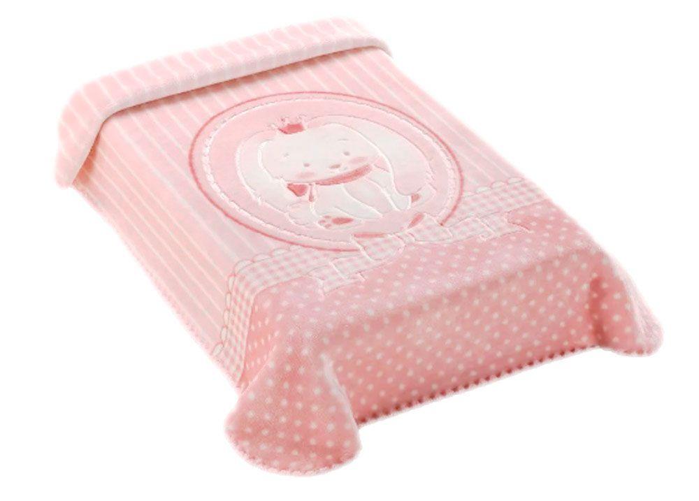 Cobertor Colibri Premium Coelho Rosa