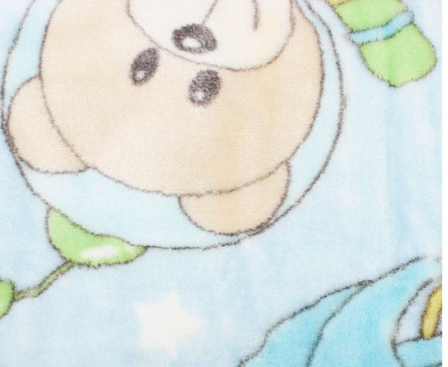 Cobertor de Bebe jolitex Azul Astronauta