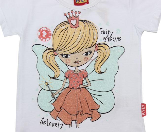 Camiseta Fada Interativa Kyly