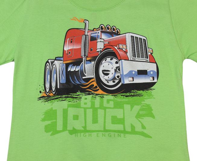 Conjunto Big Truck Camiseta + Short Kyly