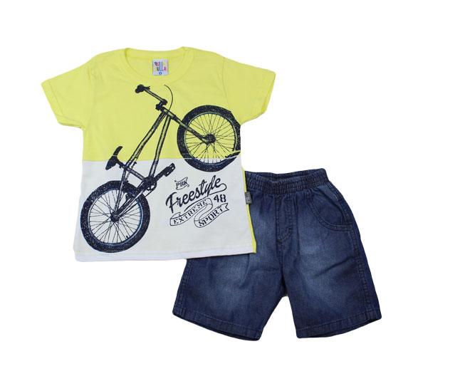 "Conjunto ""Bike freestyle"" Pulla Bulla"