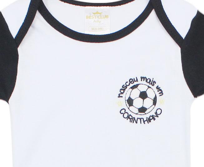 Conjunto Body + Short Corinthians Best Club